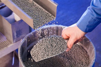 Begin of manufacturing of metal powder compounds in 2005.